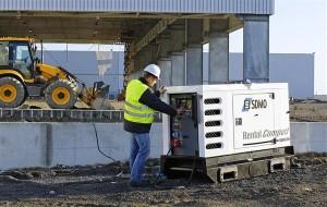 Применение генератора в строительной области