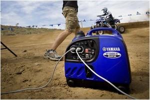 Применяется генератор в удаленной местности