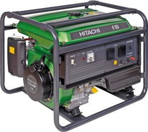 Бензогенератор марки Hitachi E50