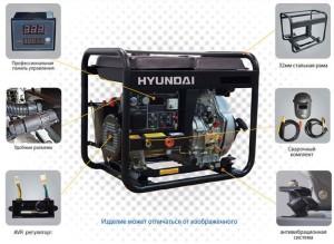 Конструкция генераторов марки Хундай