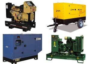 Дизельные модели генераторов