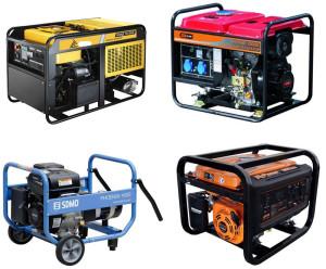 Бензиновые модели генераторов