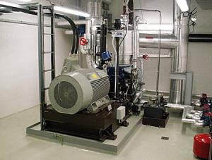 Турбинных генератор мини-ТЭС