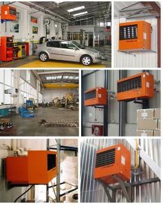 область применения в гараже и на производстве