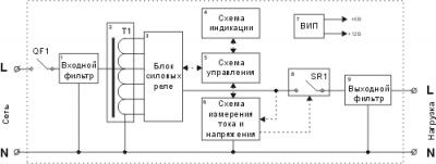 Стабилизатор входного напряжения для котла