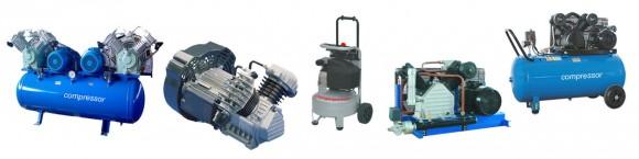 Различные виды компрессоров поршевого типа