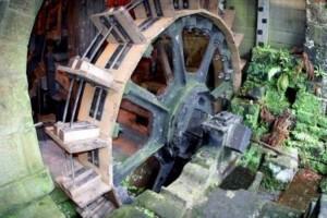 Водяная мельница или колесо