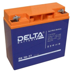 Акамулятор солнечных батарей марки Delta-GX12-17-1