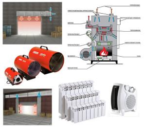 Сфера использования электрических теплогенераторов