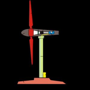 Схема ветрянного генератора