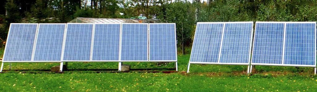 Солнечные панели Союз ЕХ-100 Вт 12