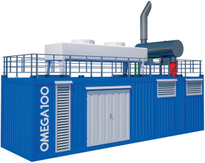 модель ТЭС Omega 100