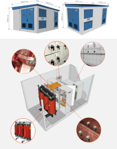 Конструкция и устройство подстанции