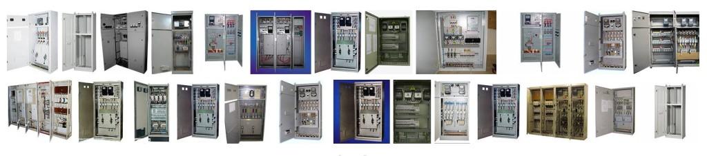 Различные виды распределмительных шкафов