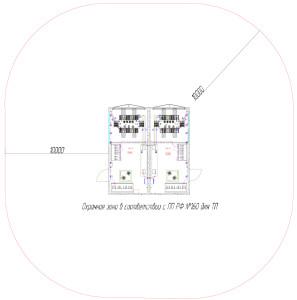 Охраняемая зона подстанции трансформаторного типа