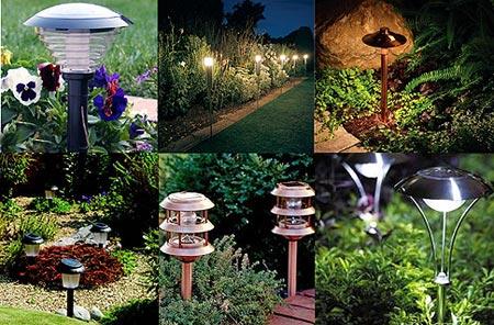 Критерии выбора светильника на солнечных батареях для сада