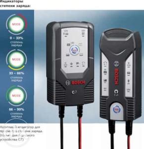 Прибор марки Bosch C7
