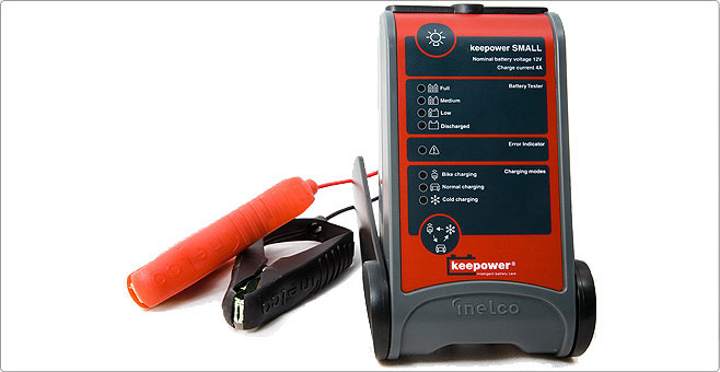 Зарядник для аккумулятолятора марки KeePower Medium