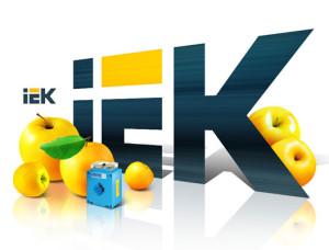 логотип компании IEK
